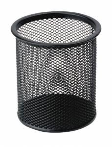 Penneholder tråd metal sort Ø90mm H100mm