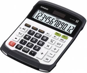 Mapperegner Casio WD-320MT vandtæt hvid 12 cifre