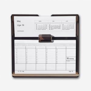 Mayland Uge-bordkalender 2019 Flip-A-Week 18x10cm REFILL - ekskl. stativ