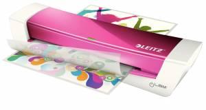 Lamineringsmaskine Leitz iLAM Home Office (75/80-125mic) A4 - pink