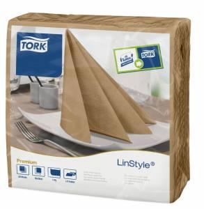 Serviet Tork Premium Linstyle 39x39 Biscuit - 600stk/kar
