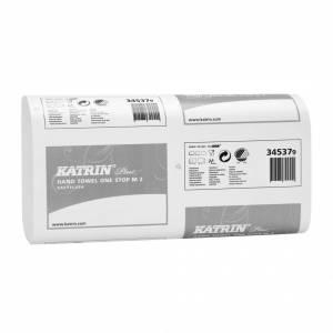 Papirhåndklæde Katrin Easyflus 2-lags 25cm 3024ark/kar 345379