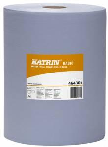 Aftørringspapir Katrin B. XXL2 BLÅ (464309) 2-lag Ø29cm 38cmx360m - 2rl
