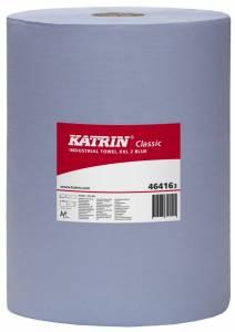 Aftørringspapir Katrin C.XXL2 BLÅ (464163) 2-lag Ø29cm 38cmx380m - 2rl