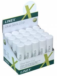 Limstift Linex 22g t/papir og foto m.v.
