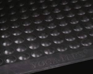 Måtte Yoga Flex 60x90cm naturgummi 13mm sort