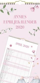 Mayland Annies Familiekalender m/plastlomme22x43cm 20 0660 00