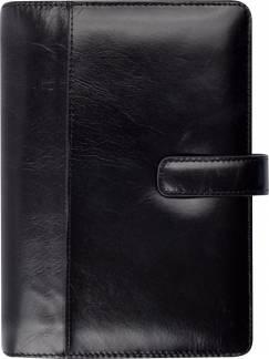 Mayland System PP 2021 ugekalender højformat 9,5x17cm sort skind