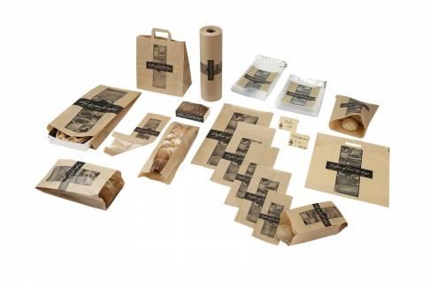 Plastikpose 250x330/50mm perf. Duften af brød rugbrød 1000stk