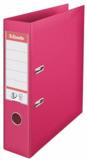 Brevordner Esselte No1 PP FSC® A4/75 mm - FUCHSIA